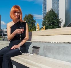 První solární lavička v České republice bude instalovaná v Litoměřicích