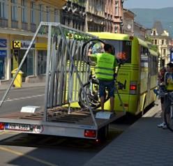 Cyklistická sezóna 2016 začala naplno i pro autobusy DÚK