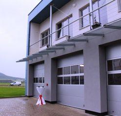 Roudnice má novou základnu Zdravotnické záchranné služby