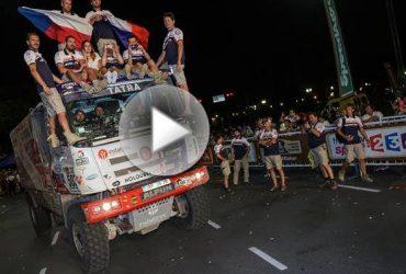 video – Oba speciály Tatra Phoenix v cíli a Loprais nejlepším Čechem letošního Dakaru