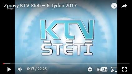 video – KTV Štětí zprávy 7. týden 2017