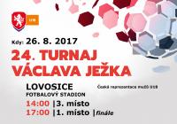 Finálové zápasy Turnaje Václava Ježka se odehrají na lovosickém fotbalovém stadionu