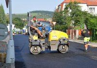 Halasova a Horova ulice mají kompletně nový asfaltový povrch