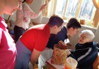 Oslava 100. let v SeniorCentru Terezín