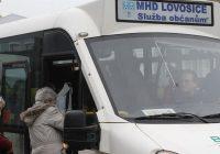 MHD Lovosice jezdí více jak měsíc zdarma