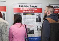 Vernisáž výstavy rok 1918 na Ústecku