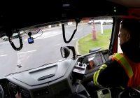 video Záznam jízdy – Dopravní nehoda s vyproštěním osob, taktické cvičení, Chodouny