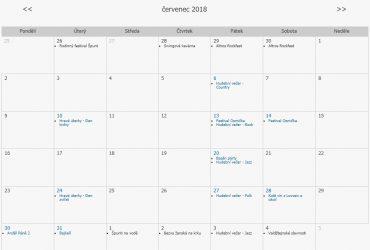Červenec – program Lovosice