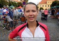 video – cyklojízda za Roudnický most