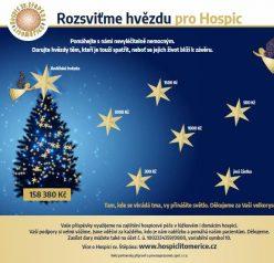 Podpořte sbírku pro Hospic