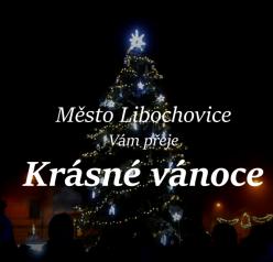 video – rozsvícení Vánočního stromu v Libochovicích