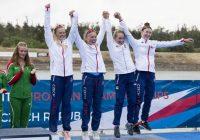 Devět medailí vybojovali čeští rychlostní kanoisté v Račicích