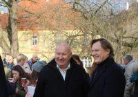 Hejtman Ústeckého kraje se zúčastnil slavnostního zahájení nové stálé expozice Památníku Terezín