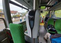 Instalace dezinfekčních přístrojů do autobusů v celém kraji