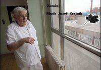 Smutná zpráva – zemřel MUDr. Josef Krajník